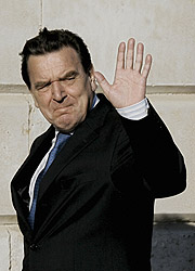 El ex canciller, Gerhard Schröder. (Foto: AFP)