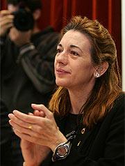 Pilar Manjón, durante un acto el pasado marzo. (EFE)