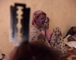 Ansel, una niña africana, antes de su ablación. (Foto: El Mundo TV)