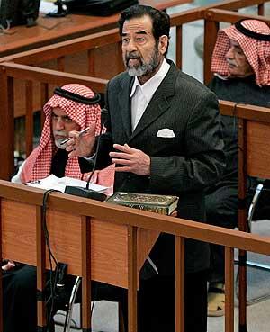 El ex presidente iraquí en la vista. (Foto: REUTERS)