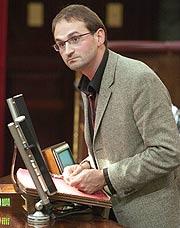 Joan Herrera, candidato al 'Luis Carandell' de mejor relación con la prensa. (Foto: EFE)