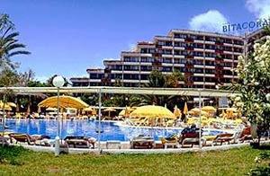 Imagen del hotel en el que se alojaba Gotovina.