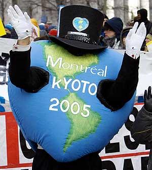 Manifestación ecologista en Montreal. (Foto: REUTERS)