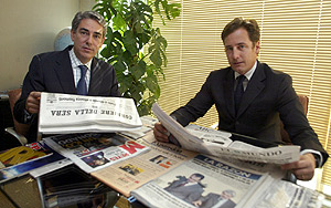 Antonio Fernández-Galiano (izda.) y Giorgio Valerio (Foto: Alberto Cuéllar)