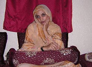 Aminetou Haidar, en una imagen de 2004. (Foto: María José Llerena)