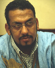 Ali Salem Tamek. (Foto: Leonardo Faccio)