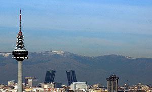 Contaminación atmosférica en Madrid. (Foto: Paco Toledo)