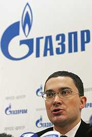 S. Kupriyanov, portavoz de Gazprom. (Foto: REUTERS)