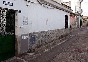 Imagen de la calle Luna, donde se produjo el asesinato. (EFE)