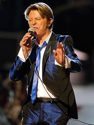 David Bowie, en el Radio City Music Hall de Nueva York. (Foto: REUTERS)