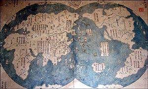 El mapa es una copia del original. (Foto: The Economist)