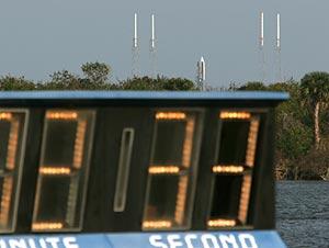 La cuenta atrás se paró el martes cuando faltaban poco más de dos minutos para el despegue. (Foto: Reuters)