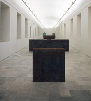 La obra 'Equal Parallel/Guernica-Bengasi', de Richard Serra.
