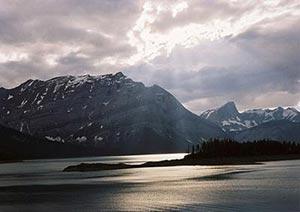 Los paisajes de 'Brokeback' pertenecen en realidad a las Montañas Rocosas.