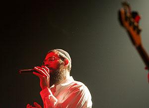 Matisyahu, durante una actuación en Jerusalén. (Foto: REUTERS)