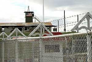 Imagen de la base militar en Guantánamo (Cuba). (Foto: EFE)