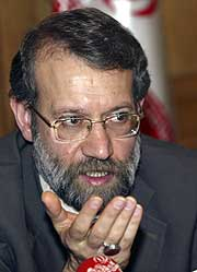 Ali Larijani. (Foto: AP)