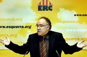 El líder de ERC, Carod Rovira. (Foto: EFE)