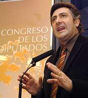 Joan Puigcercós, en el Congreso. (Foto: EFE)