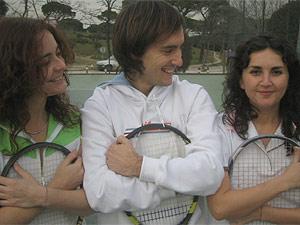 Muna, Bernardo y Alejandra, miembros del club. (elmundo.es)
