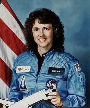 La profesora y astronauta Christa McAuliffe. (Foto: NASA)