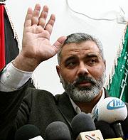 Ismail Haniya, hoy en Gaza. (Foto: REUTERS)