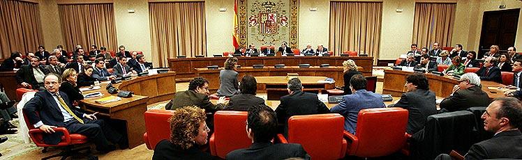 Vista general de la ponencia. (Foto: EFE)