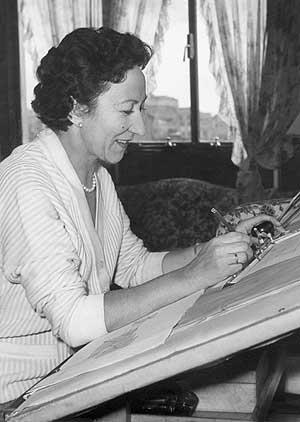 Fotografía del 1 de enero de 1950 de Matilde Ucelay. (Foto: EFE)