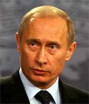 Vladimir Putin. (REUTERS)