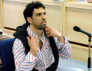 Jamal Zougam, durante el juicio a la célula de Al Qaeda relacionada con el 11-S. (Foto: EFE)