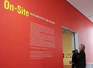 Entrada de la exposición (Foto: EL MUNDO)
