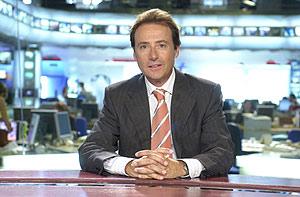 Matías Prats, presentador del informativo más visto en televisión . (Foto: EL MUNDO)