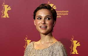 La actriz Natalie Portman durante la presentación en Berlín. (Foto: AP)