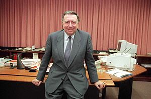 Luis María Anson. (Foto: Javi Martínez)
