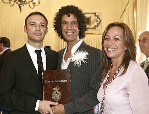 Trinidad Jiménez ofició el matrimonio de Pedro Zerolo y su pareja en octubre. (Foto: Sinova)