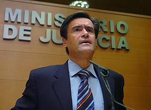 López Aguilar, durante la rueda de prensa. (Foto: EFE)
