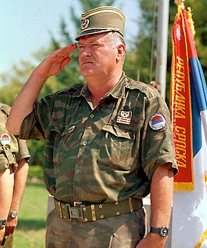 Ratko Mladic en 1995. (Foto: AFP)