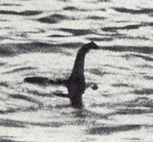 La 'foto' más famosa de 'Nessie', 'tomada' en 1933.