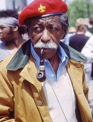 Gordon Parks en una imagen de 1983. (Foto: REUTERS)