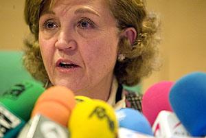 La directora general de RTVE, Carmen Caffarel. (Foto: ANTONIO HEREDIA)