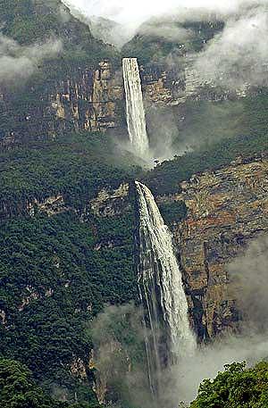 La catarata Gocta. (Foto: EFE)