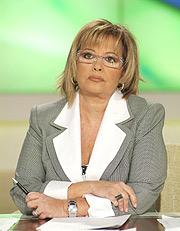 María Teresa Campos, en el plató de 'Lo que inTeresa'. (Foto: EL MUNDO)