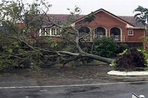 Imagen de los daños causados por el paso del ciclón 'Larry'. (Foto: AP)