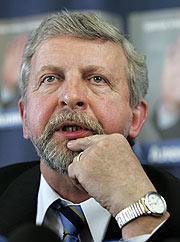 El líder opositor, Alexander Milinkiévich. (Foto: AP)
