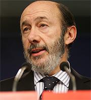 Alfredo Pérez Rubalcaba. (Foto: Alberto Cuéllar)