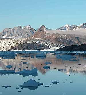 Imagen del deshielo en Groenlandia. (Foto: Science)