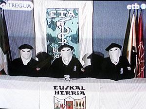 Imagen del vídeo difundido por ETA el 22 de marzo. (Foto: EFE)