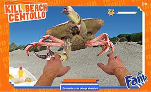 Ataque del buey de mar. (Foto: web de Fanta)