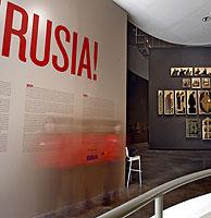 Inauguración de la exposición 'RUSIA', en el Museo Guggenheim de Bilbao. (Foto: Carlos García)