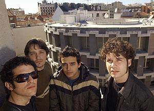 Los integrantes de Sexy Sadie, en una imagen de 2004. (Foto: Ricardo Cases)